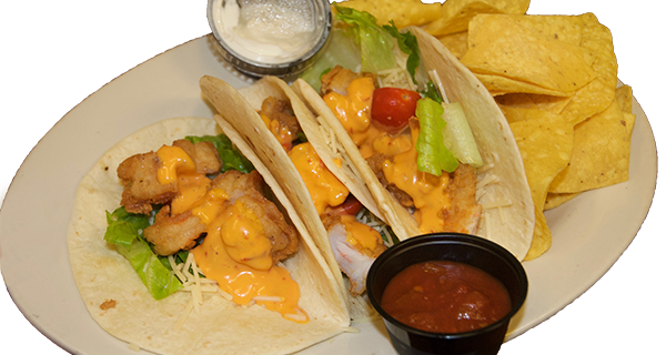 Firecracker Shrimp Tacos